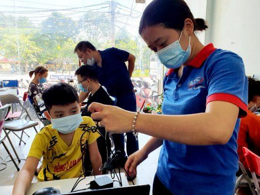 Tin học dành cho trẻ em tại Thanh Hóa